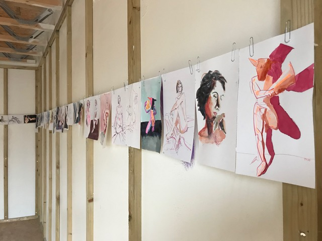 Josie Deighton work in the group exhibition 'Unfinished Business'.