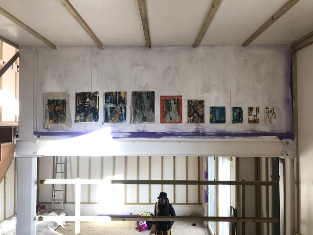 Katie Maynard's work in the group exhibition 'Unfinished Business'.