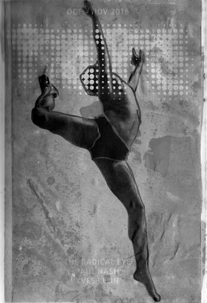 Altered Tate brochure cover showing a male dancer